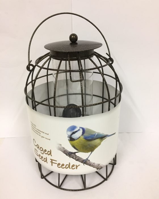 caged-seed-feeder